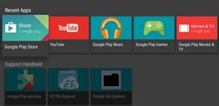 Cách tải ứng dụng ngoài trên Android tivi Sony bằng file apk