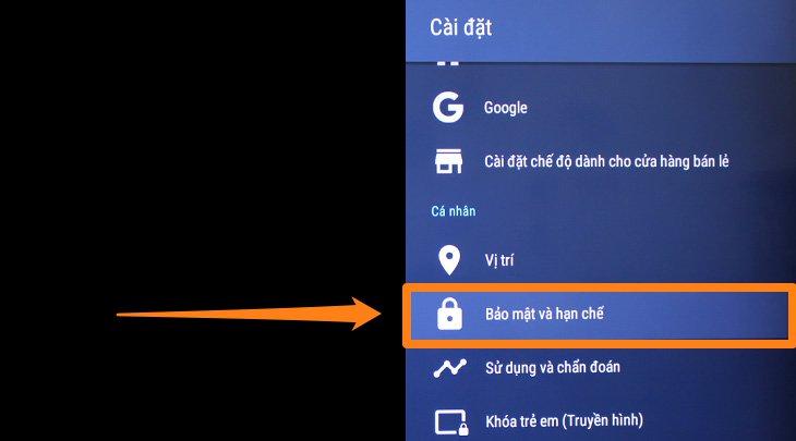 Cách tải ứng dụng ngoài trên Android tivi Sony bằng file apk đơn giản