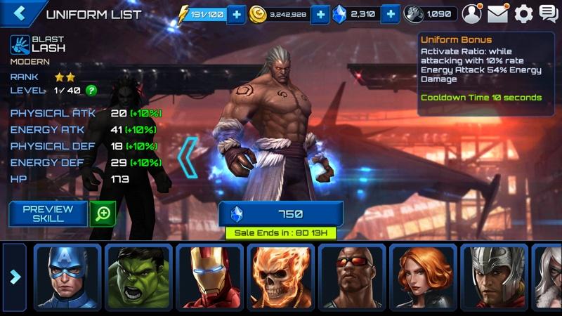 Marvel Future Fight Halloween 12