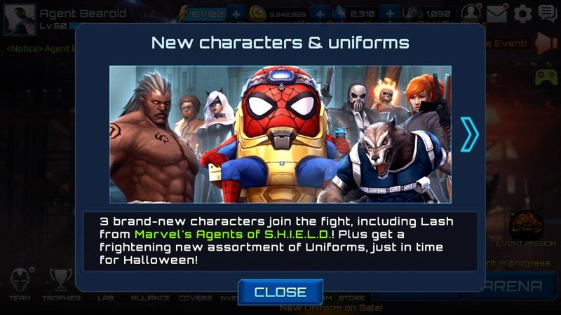Marvel Future Fight Halloween 8