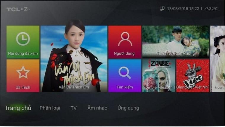 Hầu hết các Smart tivi hiện nay đều có thể cài đặt Zing TV