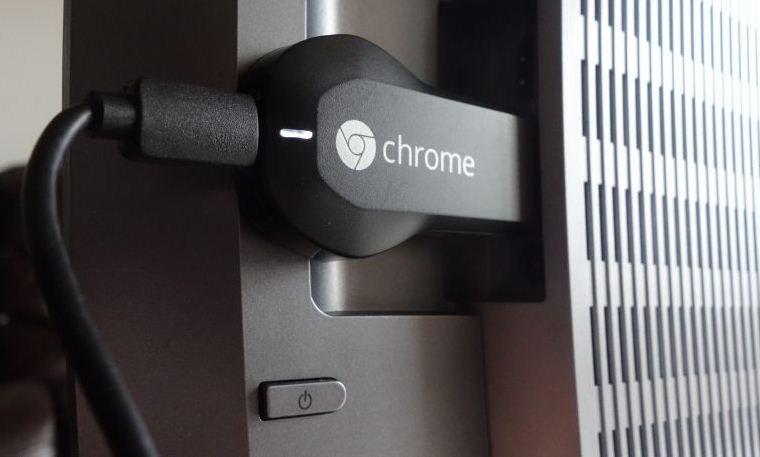 Khả năng trình chiếu video lên tivi bằng thiết bị ChromeCast