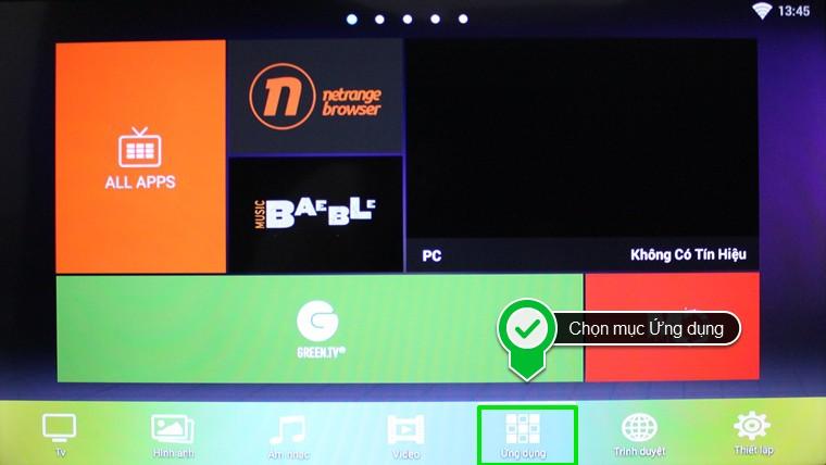 Tải ứng dụng cho Smart tivi Skyworth bằng file apk đơn giản(phần 1)