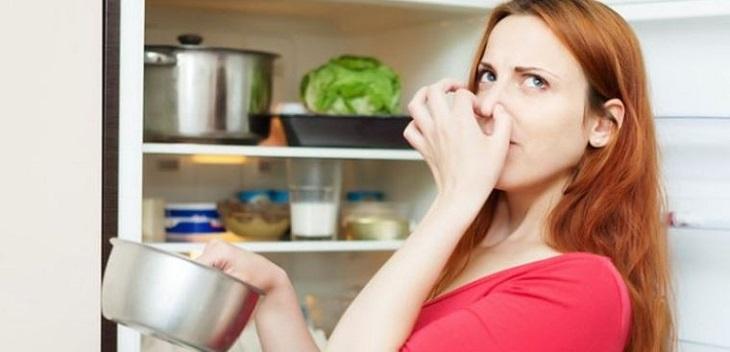 Vứt bỏ các loại thực phẩm hay thức ăn thừa để lâu ngày trong tủ lạnh