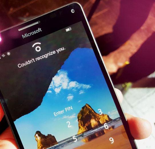 Tìm hiểu tính năng bảo mật Windows Hello trên Lumia 950 XL