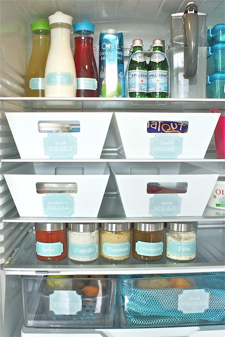 Sắp xếp và bảo quản thực phẩm khoa học,đúng cách