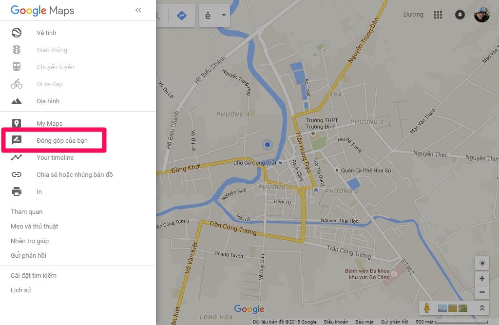 Truy cập Local Guides của Google Maps nền web
