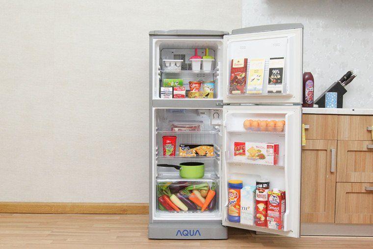 Sử dụng tủ lạnh có dung tích phù hợp với nhu cầu