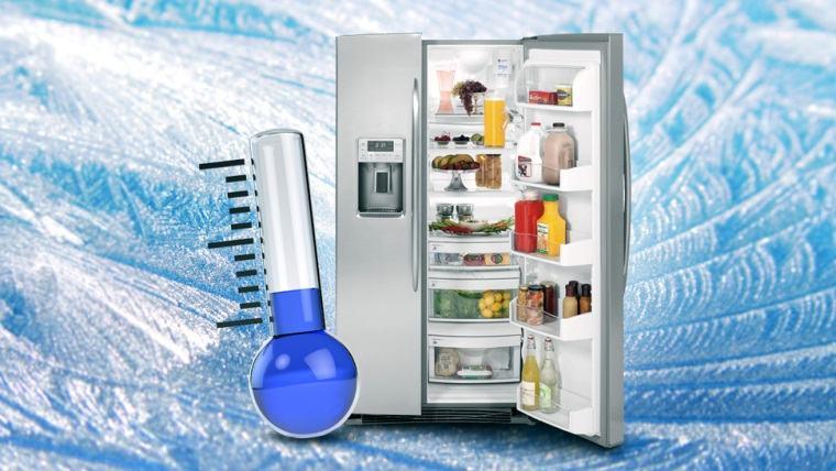 Điều chỉnh nhiệt độ hợp lý cho tủ lạnh