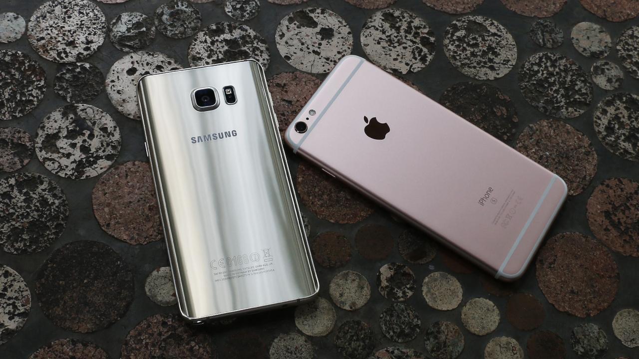 So sánh Iphone 6S Plus và Samsung Galaxy Note 5