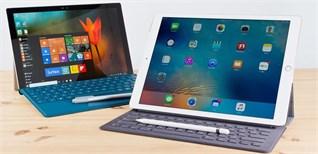 """So sánh Surface Pro 4 vs iPad Pro –Sản phẩm nào mới xứng đáng là """"vua tablet"""" ?"""