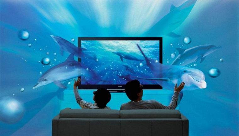 Màn hình 4K phát huy tác dụng với các bộ phim 3D