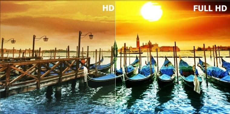 Hình ảnh Full HD đẹp mắt và chi tiết hơn