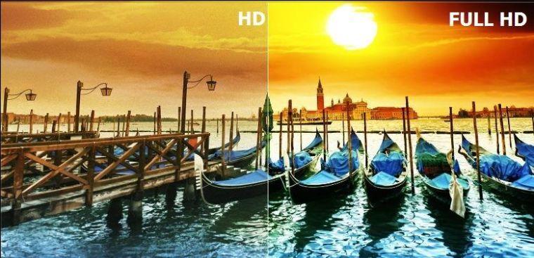 So sánh tivi độ phân giải HD và Full HD có gì khác biệt?