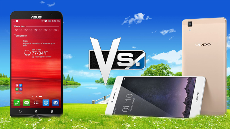 Zenfone 2 vs OPPO R7s
