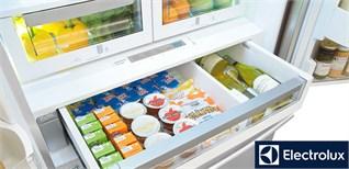 Các chức năng chính trên tủ lạnh Electrolux