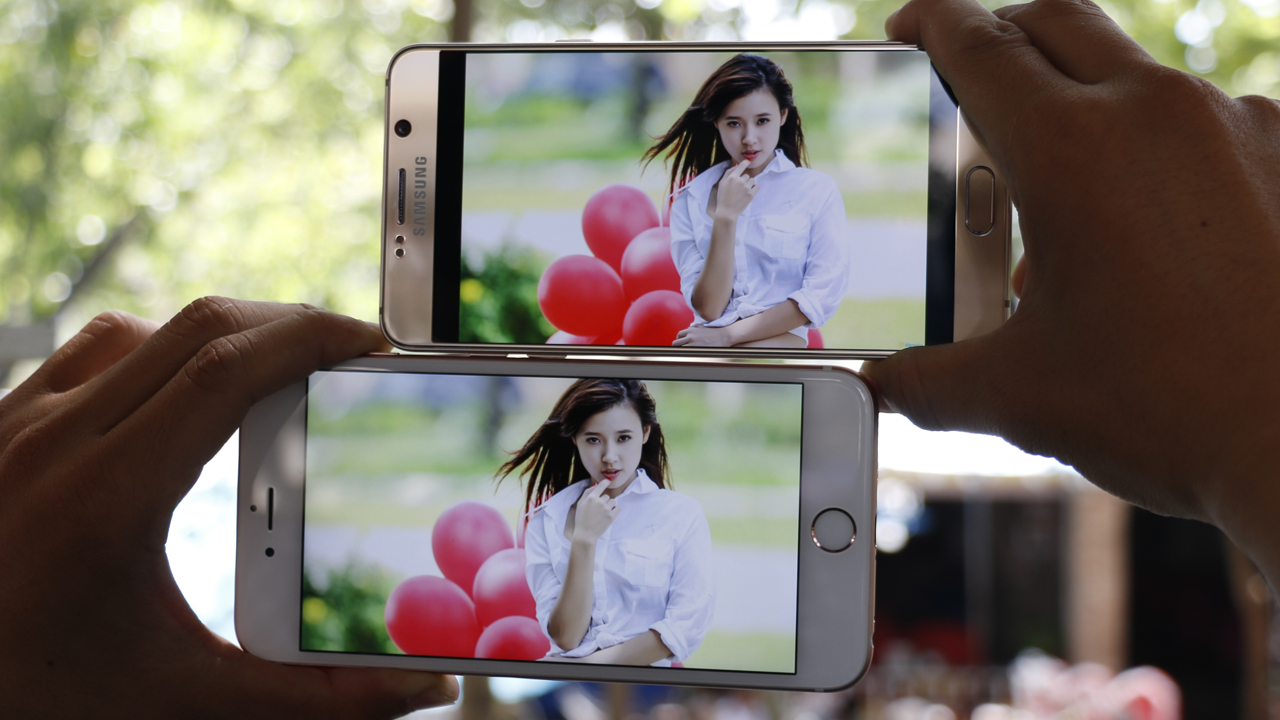 iPhone 6s Plus vs Galaxy Note 5