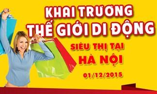 Tưng bừng khai trương siêu thị Thegioididong tại Hà Nội