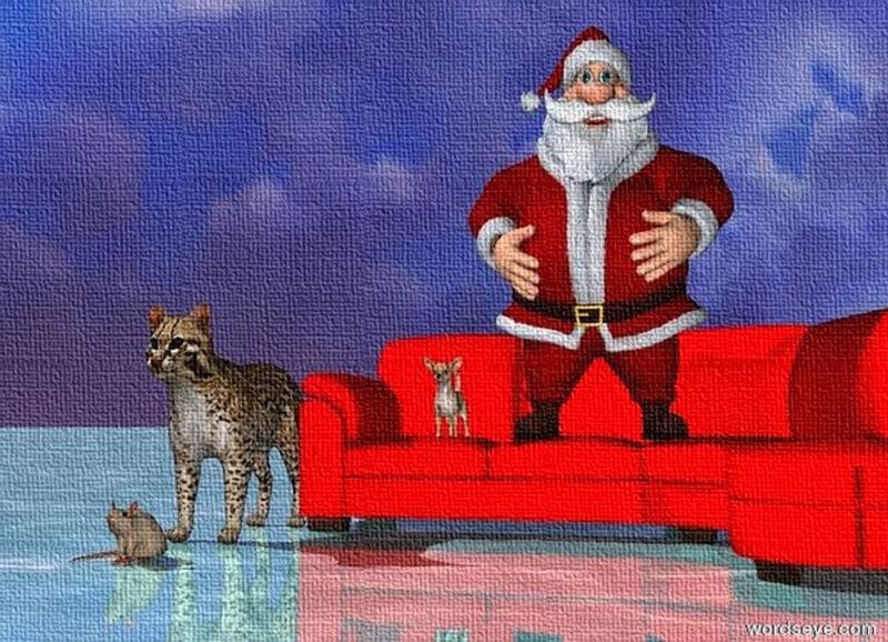 Tác Phẩm: Christmas With Santa And Friends