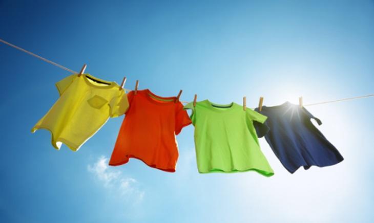 Vẫn phải phơi quần áo sau khi sấy