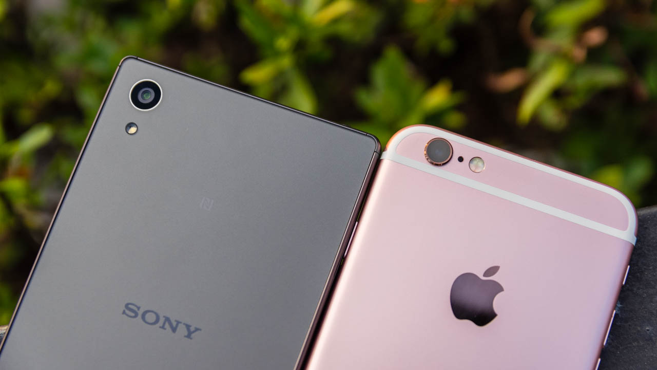 Xperia Z5 vs iPhone 6s