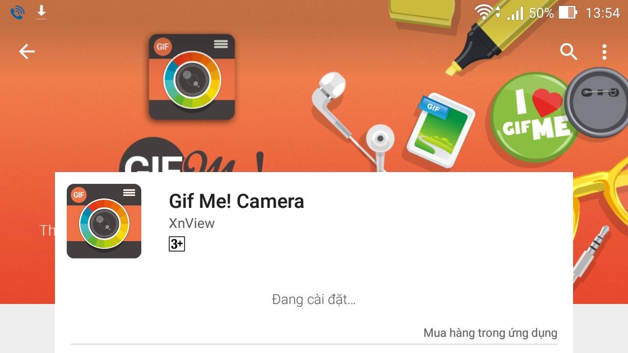 Tạo ảnh động GIF trên thiết bị Android để chia sẻ lên Facebook