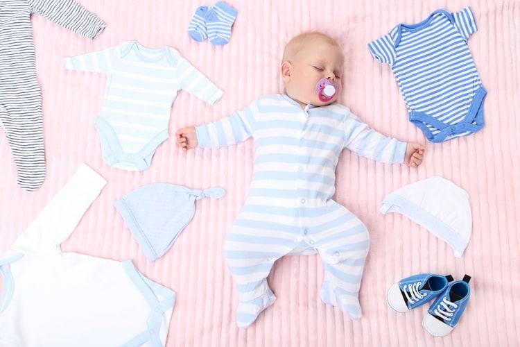 Quần áo trẻ sơ sinh phù hợp nhiệt độ từ 60 đến dưới 95 độ C