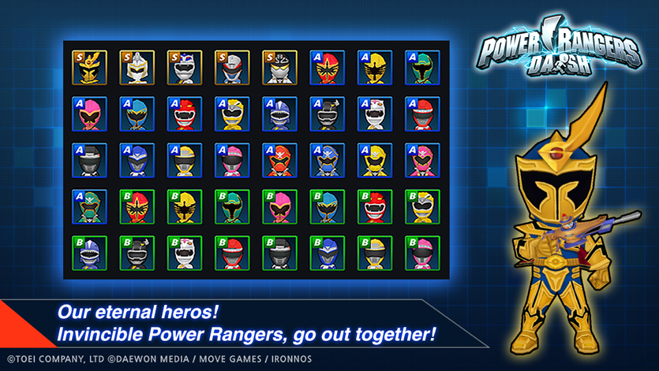 Power Rangers Dash Pic 1