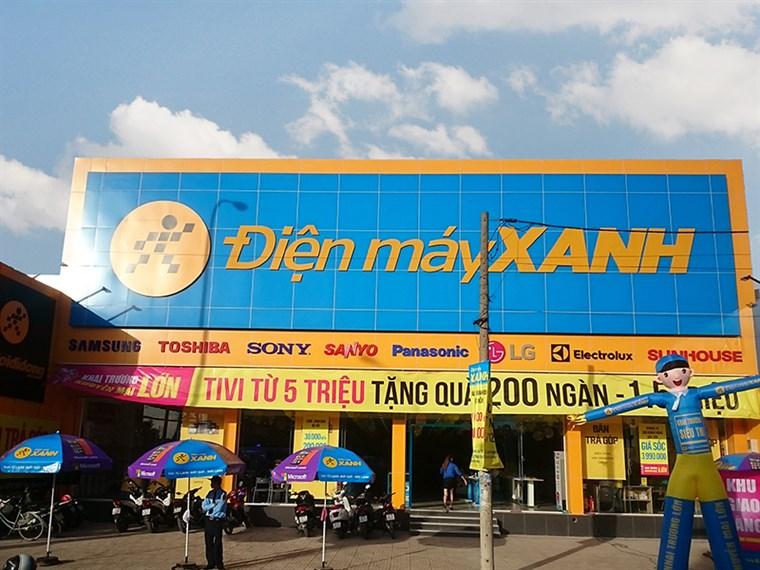 Siêu thị điện máy xanh tại 322- 324 Phan Văn Hớn, Phường Tân Thới Nhất, Quận 12 , Thành Phố Hồ Chí Minh