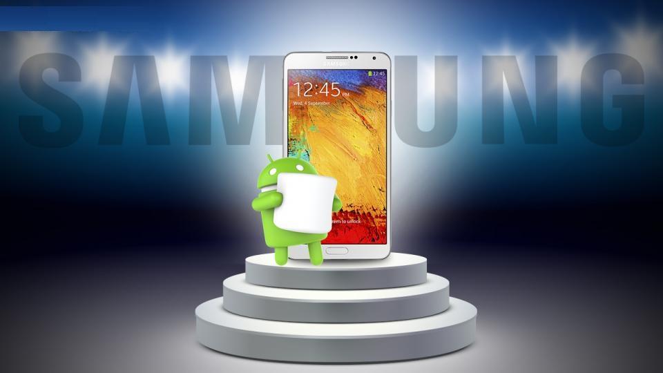 Xuất hiện danh sách smartphone Samsung sắp được lên đời Android 6.0