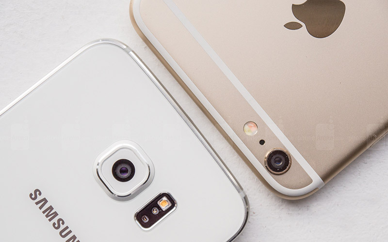 Samsung Galaxy S6 vs iPhone 6s