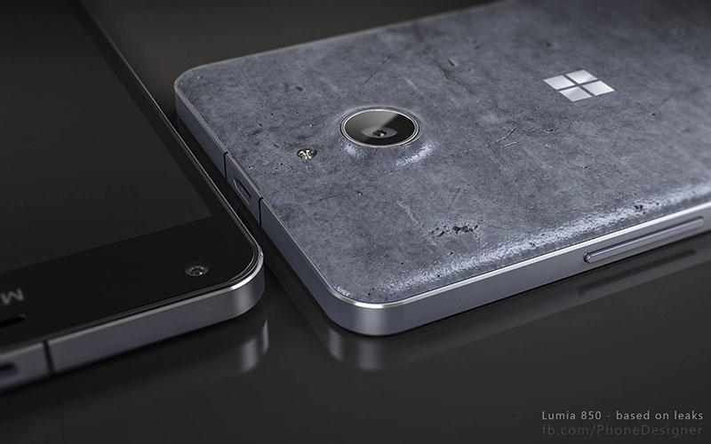 Concept Lumia 850 từ ... bê tông