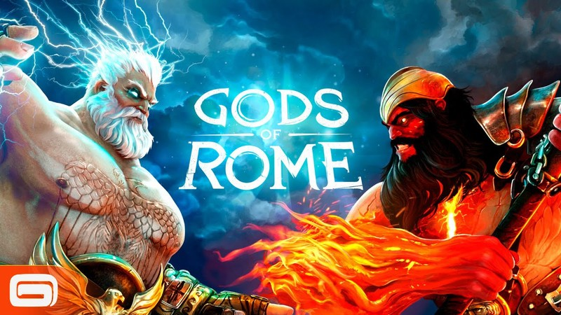 Gods Of Rome Menu