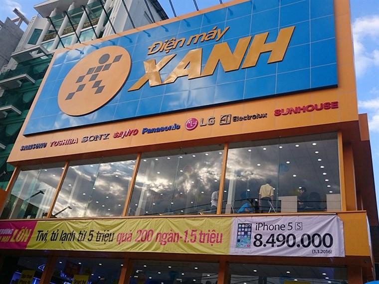 Siêu thị điện máy xanh tại 542 Cách Mạng Tháng 8,  Phường 11, Quận 03 , Thành Phố Hồ Chí Minh