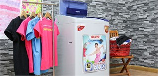 4 máy giặt Sanyo 8kg giá rẻ hấp dẫn nhất