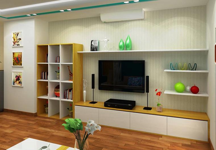 Treo tivi lên tường để tiết kiệm không gian
