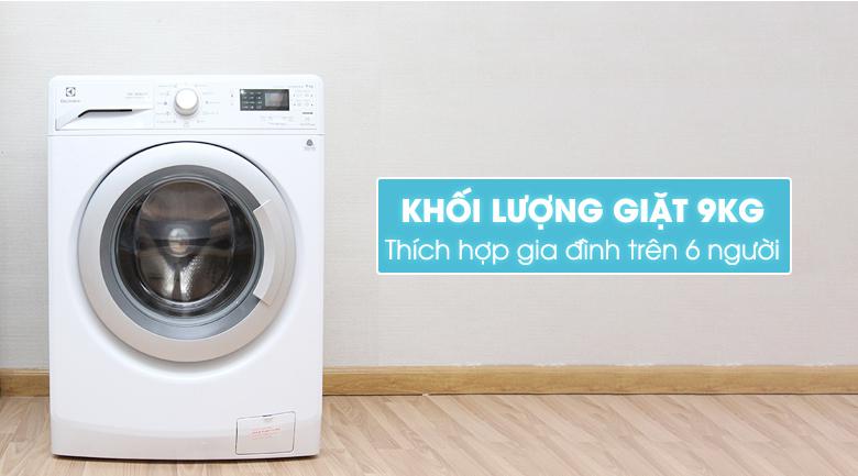 Lựa chọn máy giặt với dung tích phù hợp cho gia đình