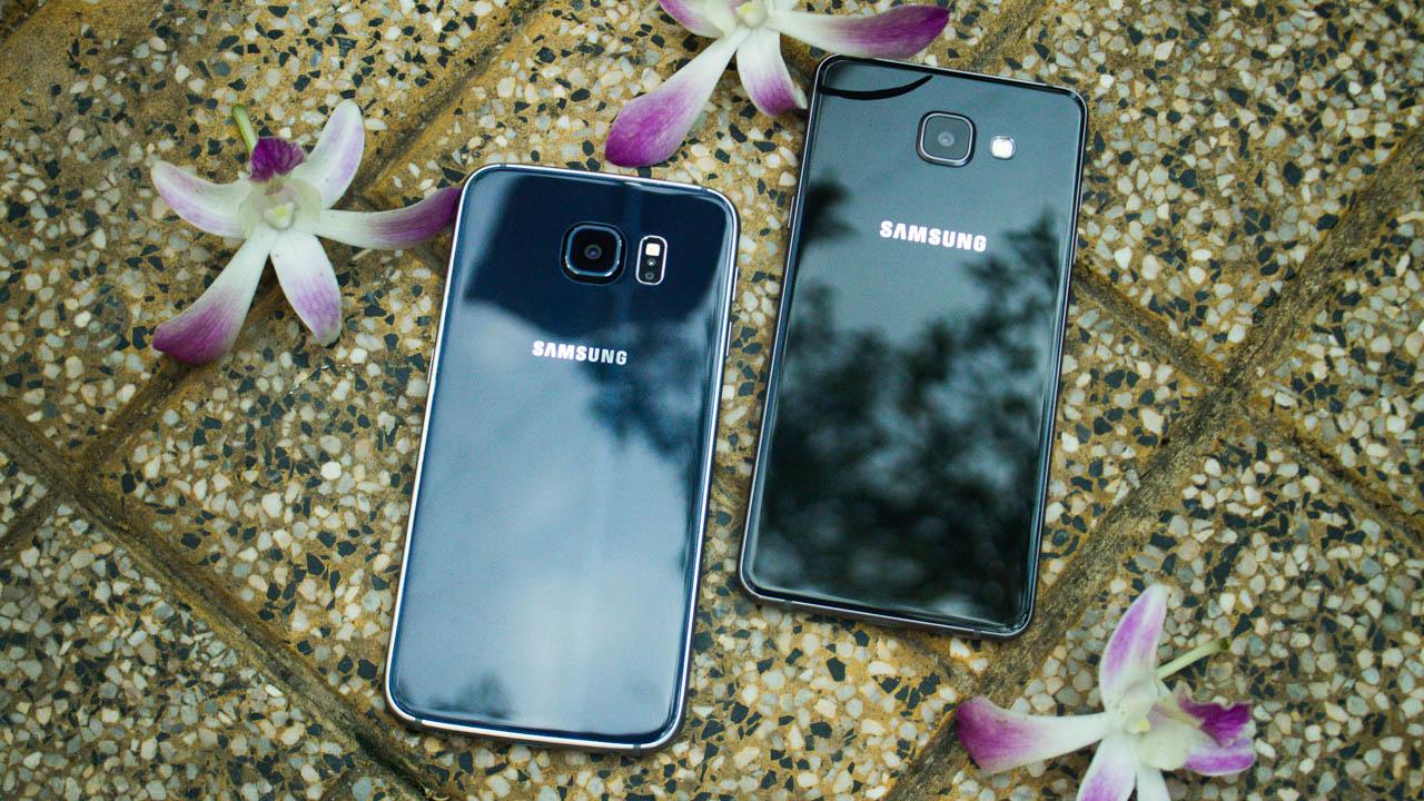 Chia se nhung diem Galaxy A5 2016 ngon hon Galaxy S6