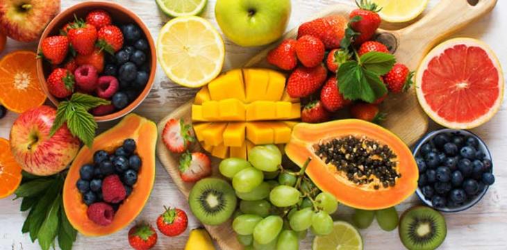 Tăng cường ăn các loại rau quả để bổ sung đầy đủ chất dinh dưỡng