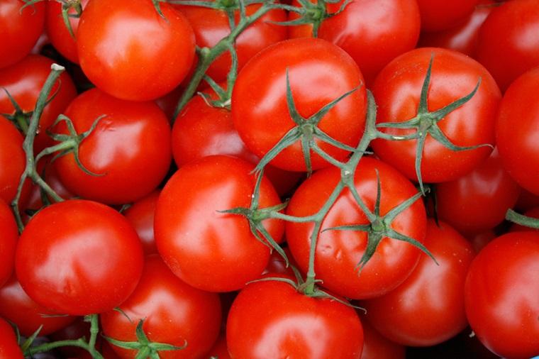 Cắt lát mỏng cà chua, đắp lên vùng bị mụn sẽ giúp làm mụn biến mất dễ dàng