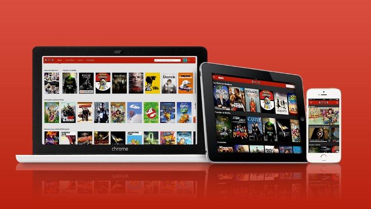 Netflix được hỗ trợ trên nhiều thiết bị