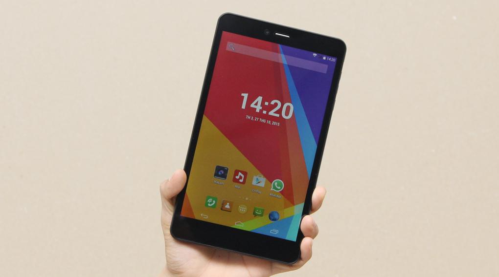 Mobell Tab 8i có màn hình LCD IPS rộng 8 inch (1.280 x 800 pixel)