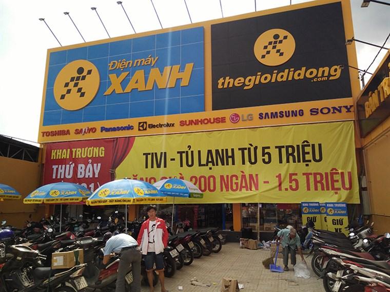 Siêu thị điện máy xanh tại 506 - 508 Nguyễn Văn Tạo, Ấp 1, Xã Long Thới, Huyện Nhà Bè , TP.HCM