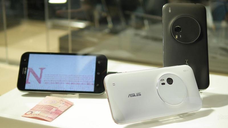 Thông tin về Asus ZenFone Zoom và ZenFone Max pin 5.000 mAh tại Việt Nam