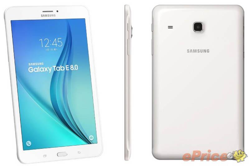 Samsung giới thiệu Galaxy Tab E 8.0 giá tầm trung tại Đài Loan