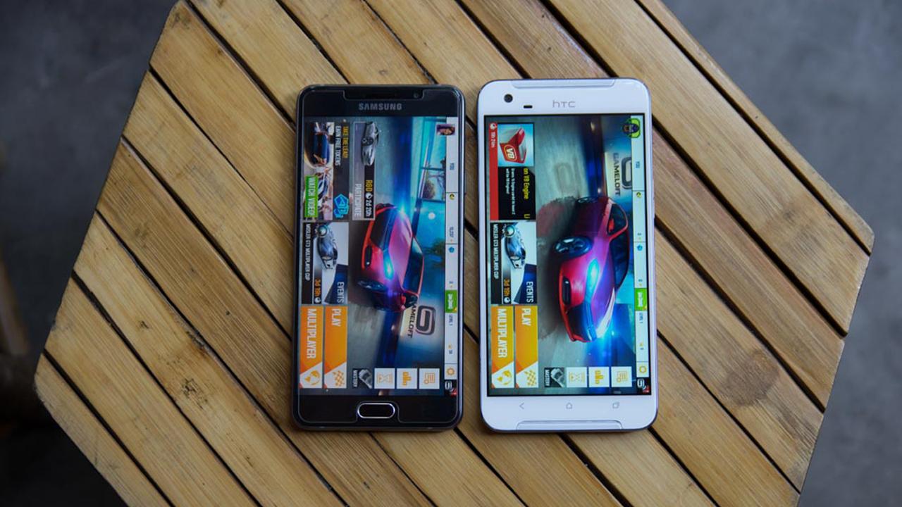 So sánh Galaxy A7 2016 vs HTC One X9