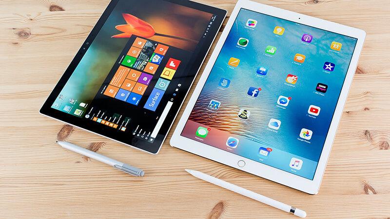 Surface Pro 4 vẫn chưa thể vượt qua doanh số iPad Pro