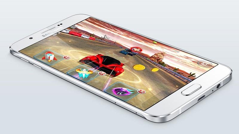 Galaxy A8 khung vỏ nhôm siêu mỏng, cực đẹp vừa được giảm giá dịp Tết