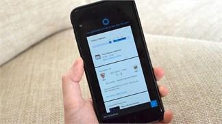 Microsoft cập nhật trợ lý ảo Cortana trên hệ điều hành iOS