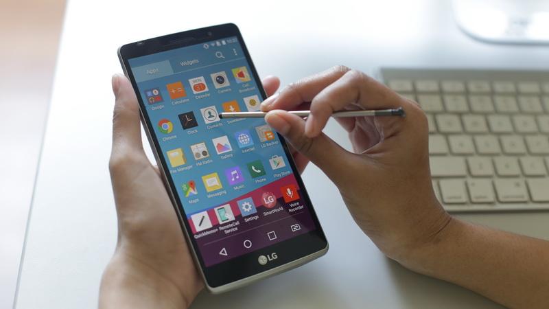 LG Stylus 2 sẽ xuất hiện tại MWC 2016